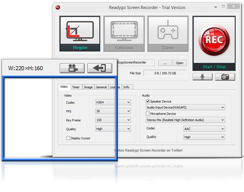 Readygo Screen Recorder! | A screen recording software that
