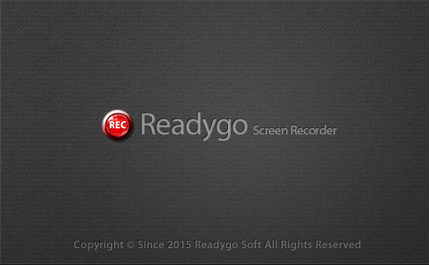 STEP1  Readygo Screen Recorder インストール